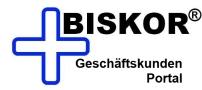 Biskor® Geschäftskunden Portal